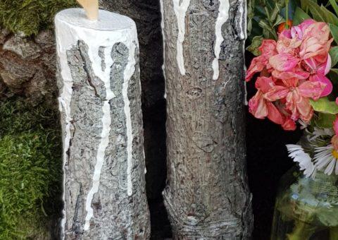 Ceri al vento - scultura su legno - loc. Crocetta di Maro, Castelnovo ne' Monti (RE)