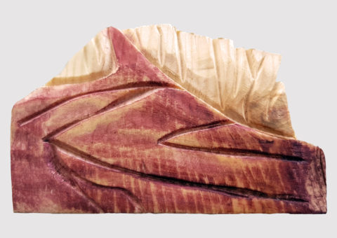 Calamita Pietra 2 - pino cembro 10x6 cm
