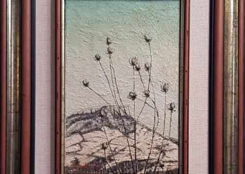 Terminaccio - olio su tela di iuta 20x30 cm (1999)