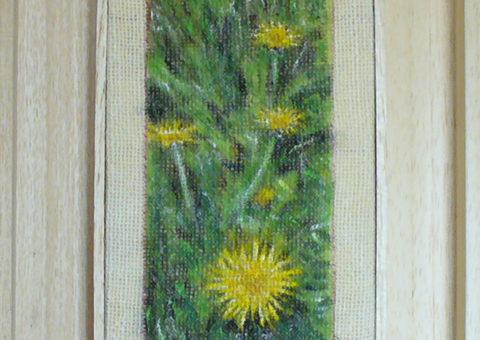 in Val Masino - olio su tela 13x25 cm