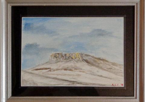ancora da Maro - acquerello su cartone 26x18 cm
