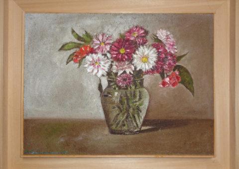 Astri - olio su tavola 40x30 cm