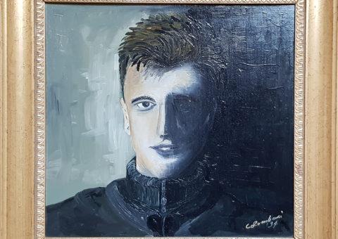 Autoritratto all'età di 20 anni - olio su tela (1994)