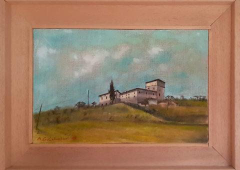 Località Le Vaglie di Casina - olio su tela 20x30 cm (2005)