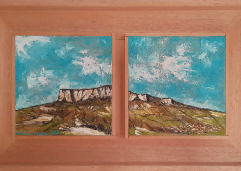 Da Maro - olio su tavola 33x17 cm (2003)