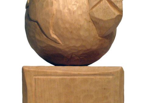World - Italy - BISMANTOVA - scultura su pino cembro 15x25x15 cm
