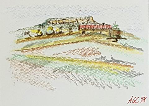 Cartolina pastello 1 - 14,5x10x5 cm