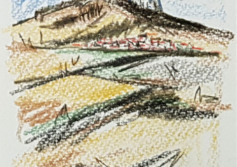 Cartolina pastello 3 - 10,5x14x5 cm