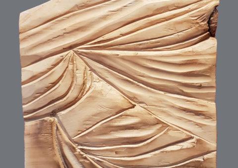Senza nome 4 - scultura su cirmolo 18x26 cm